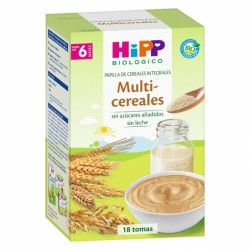 HIPP BIO Papilla Multicereales +6 meses 400gr