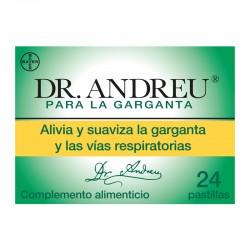 Dr. Andreu Alivia y Suaviza la Garganta 24 pastillas