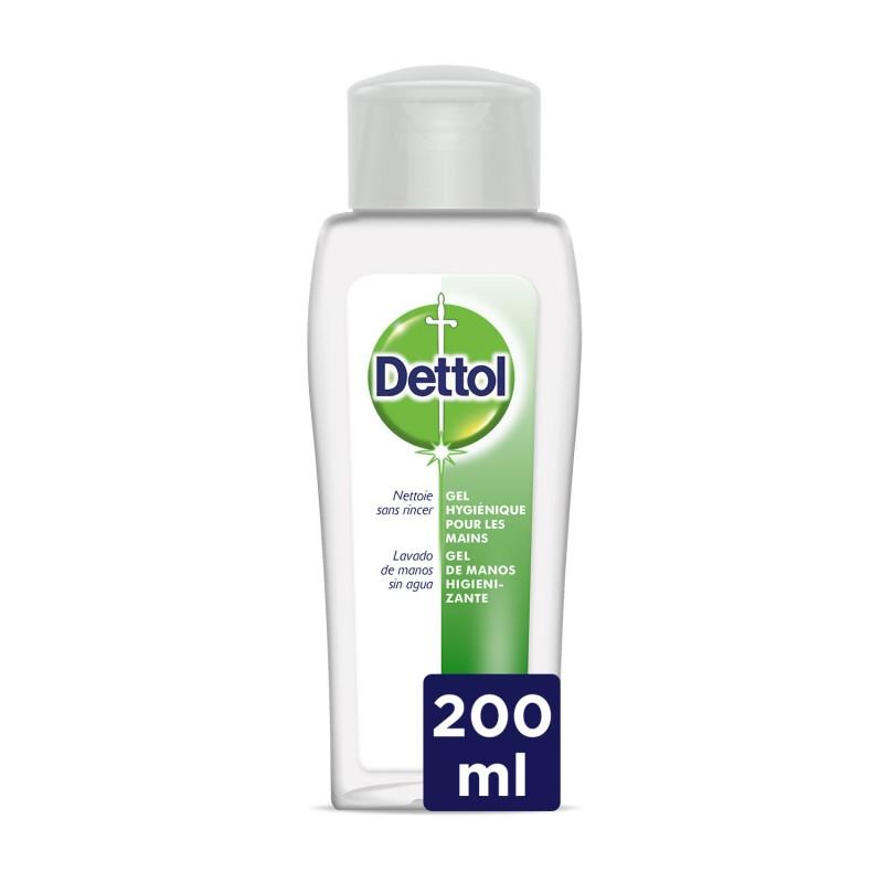 DETTOL Gel de Manos Desinfectante Antibacteriano 200ml