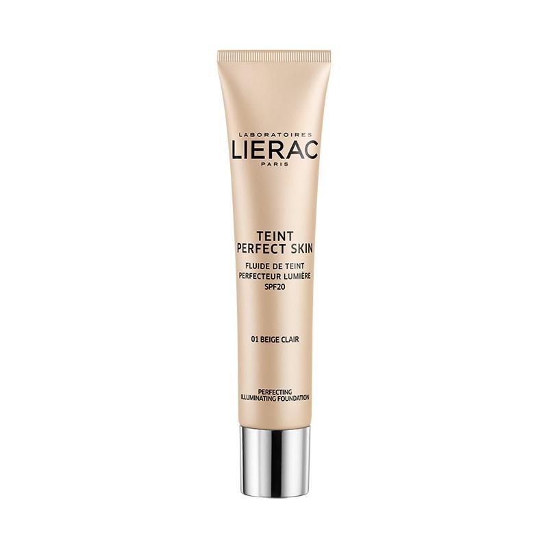 LIERAC Teint Perfect Skin 01 Beige Claro Spf 20 (30ml)