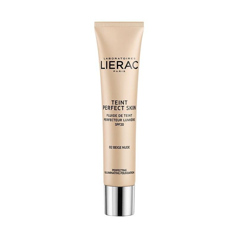 LIERAC Teint Perfect Skin 02 Beige Nude Spf 20 (30ml)