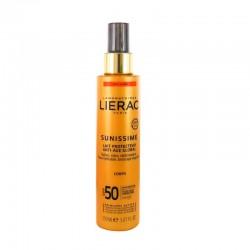 LIERAC Sunissime Leche Protectora Antiedad en Spray Spf50+ Corporal 150ml
