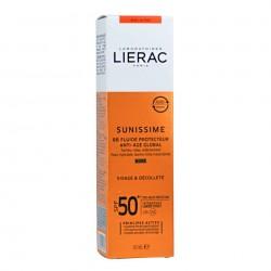 LIERAC Sunissime BB Fluido Protector con Color Spf50 Antiedad 40ml