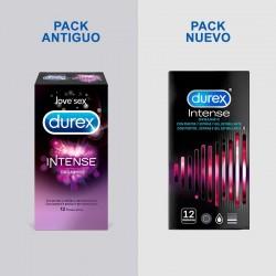 DUREX Preservativo Intense Orgasmic con Puntos y Estrías 12 unidades