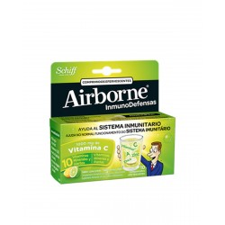 AIRBORNE Lima Limón 10 Comprimidos Efervescentes