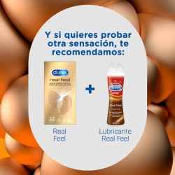 DUREX Preservativo Real Feel 12 unidades