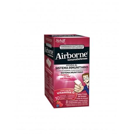 AIRBORNE Frutos del Bosque 32 Comprimidos Masticables