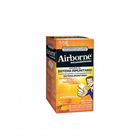 AIRBORNE Naranja 32 Comprimidos Masticables