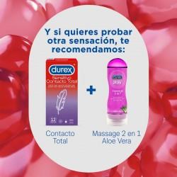 DUREX Preservativo Sensitivo Contacto Total 12 unidades