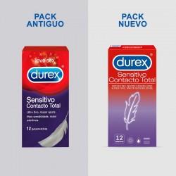 DUREX Sensitivo Contacto Total PACK AHORRO 24 Unidades