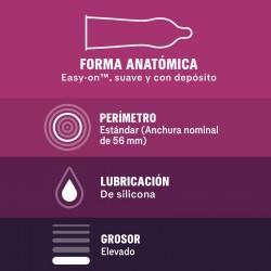 DUREX Preservativo Sin Latex 12 unidades