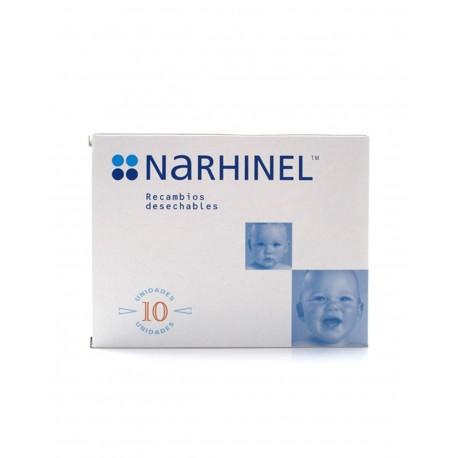 NARHINEL Aspirador Nasal 10 Recambios Deshechables