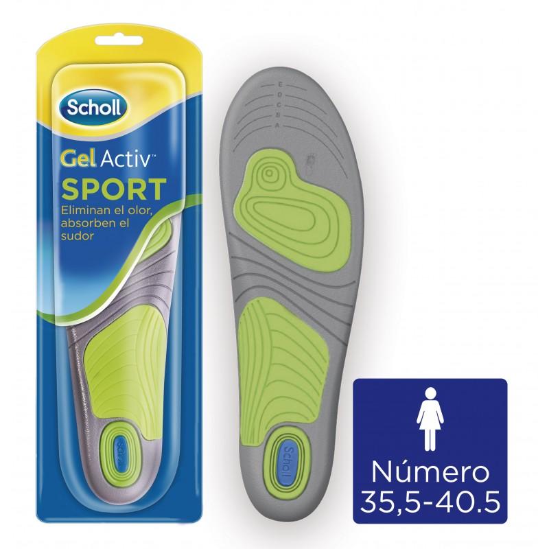 SCHOLL Plantilla Gel Activ Sport Mujer 38-42
