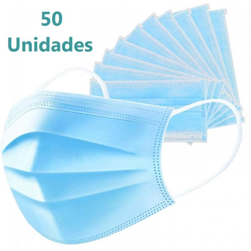 50x MASCARILLAS Quirúrgicas Caja de 50 uds
