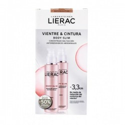 LIERAC Body-Slim Vientre y Cintura 2x100ml