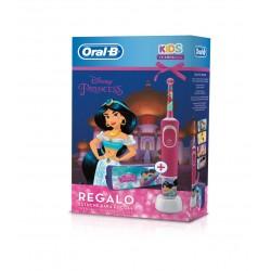 ORAL-B Kids Vitality Stages Princesas Cepillo Eléctrico Infantil + Estuche de REGALO
