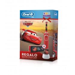 ORAL-B Kids Vitality Stages Cars Cepillo Eléctrico Infantil + Estuche de REGALO