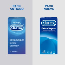 DUREX Preservativo Extra Seguro 12 Unidades