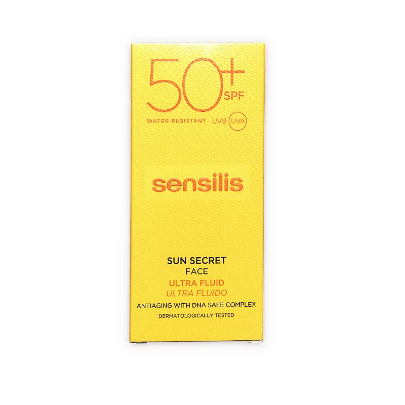SENSILIS Sun Secret SPF50+ Ultra Fluido Facial Antiedad 40ML