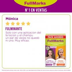 FULLMARKS Antipiojos y Liendres Loción 100ml + Champú 150ml