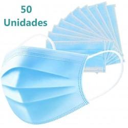 MASCARILLAS Quirúrgicas Caja de 50 uds HAPPY TOUCH