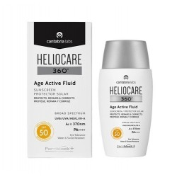 HELIOCARE  360º Age Active Fluid Protector Solar SPF50 Protege, Repara y Corrige 50ml