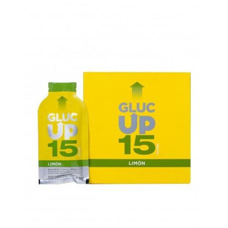 GLUC UP 15 Sabor Limón 20 Sticks