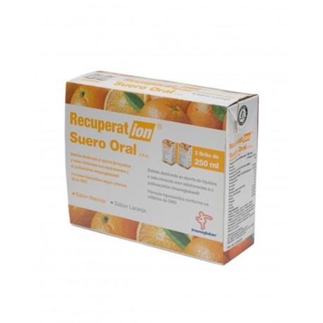 RECUPERAT-ION Suero Oral S.R.O. Sabor Naranja 2x250ML