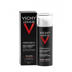 VICHY Homme Tratamiento Hidratante Anti-Fatiga Rostro y Ojos 50ML
