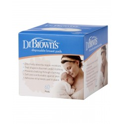 DR. BROWN'S Discos Absorbentes Desechables 60 Unidades