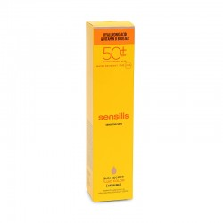 SENSILIS Sun Secret SPF50+ Tratamiento Facial Antiedad Fluido Color 50ml