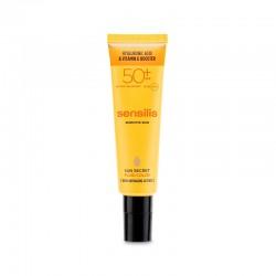 SENSILIS Sun Secret SPF50+ Tratamiento Facial Antiedad Fluido Color 50ml