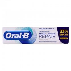 ORAL-B Pasta Dentífrica Repair Blanqueante Encías & Esmalte 100ml