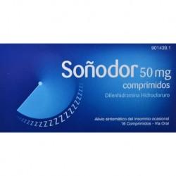 Soñodor 50MG 16 Comprimidos