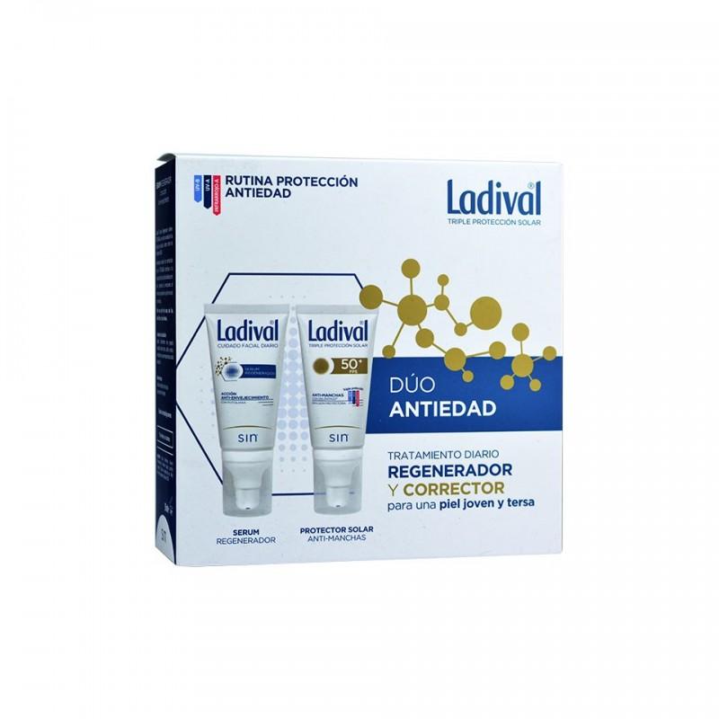 LADIVAL Pack Despigmentante Anti-Manchas FPS50 (50ml)+ Sérum 50ml