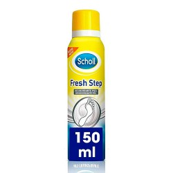 SCHOLL Fresh Step Desodorante Pies Spray Anti Transpirante 150ml