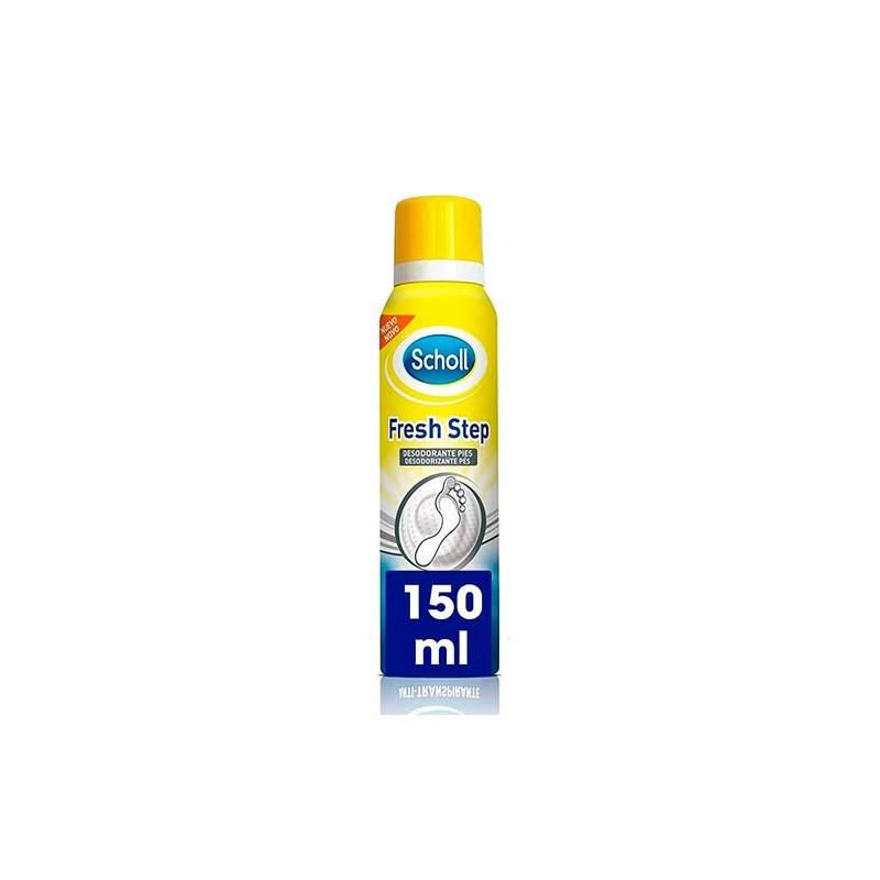 SCHOLL Fresh Step Desodorante Pies Spray Anti Transpirante 150ml