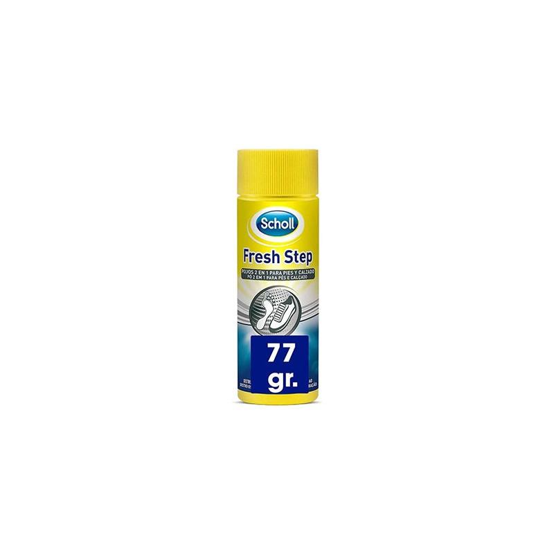 SCHOLL Fresh Step Polvos Desodorantes 2 en 1 para Pies y Calzado 75gr