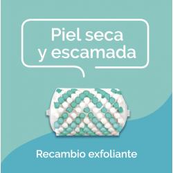 SCHOLL Recambio Cabezales Exfoliantes para Lima Electrónica Piel Seca 2uds