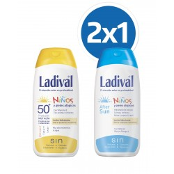 LADIVAL Protector Solar Niños FPS 50 200ML + Aftersun 200ML