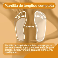 SCHOLL Plantillas In-Balance Alivio Zona Lumbar Talla M (40-42)