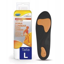 SCHOLL Plantillas In-Balance Alivio Zona Lumbar Talla L (42.5-45)