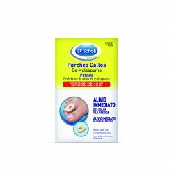 SCHOLL Parches Callos Molespuma 9 parches