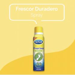 SCHOLL Fresh Step Desodorante Pies Spray Extra Fresh 150ml
