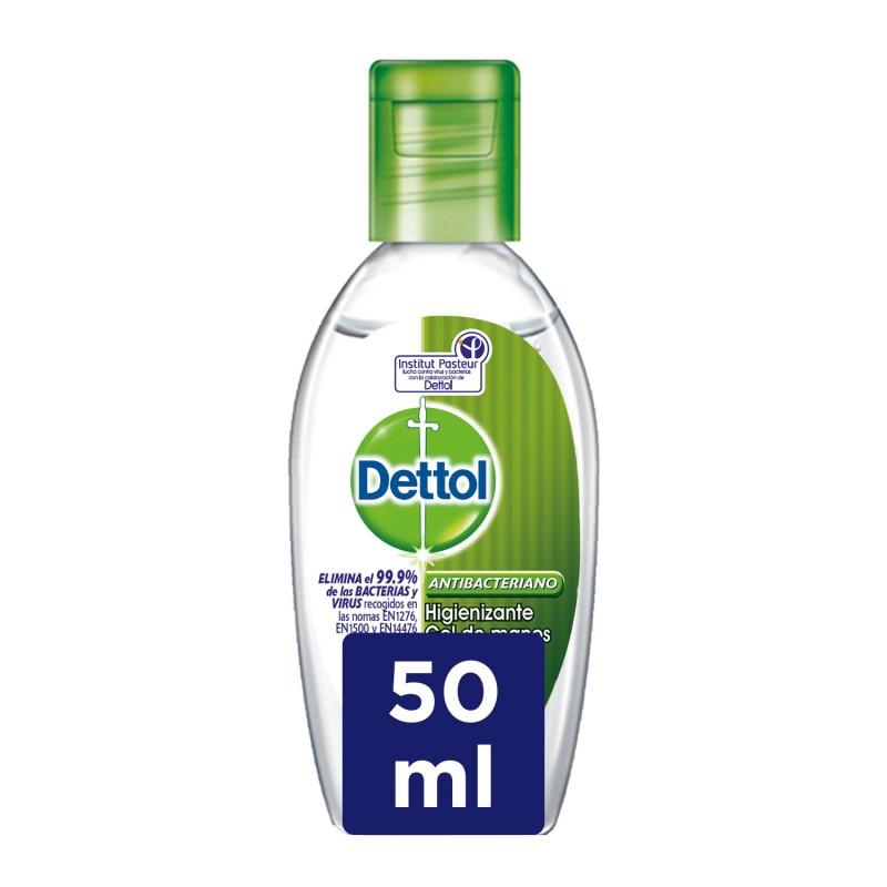 DETTOL Gel de Manos Desinfectante Antibacteriano 50ml