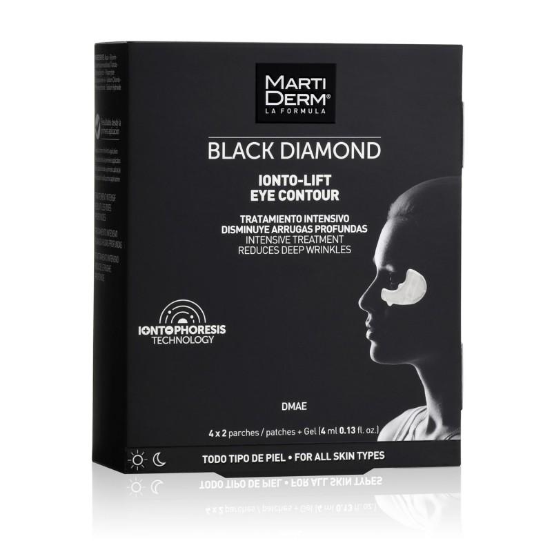 MARTIDERM Black Diamond Ionto-Lift Arrugas Profundas, 4 ml X 2 Parches
