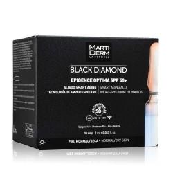 MARTIDERM Ampollas Black Diamond Epigence Optima SPF 50 x30 Ampollas