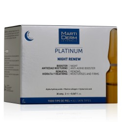 MARTIDERM Ampollas Platinum Night Renew x30 Ampollas