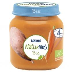 NESTLÉ Naturnes BIO Puré Zanahoria y Boniato 125gr
