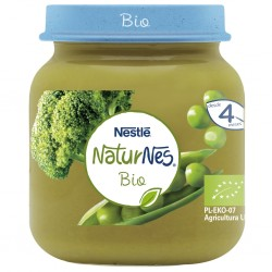 NESTLÉ Naturnes BIO Puré Guisantes y Brócoli 125gr